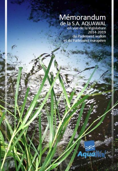Cover Mémorandum 2014