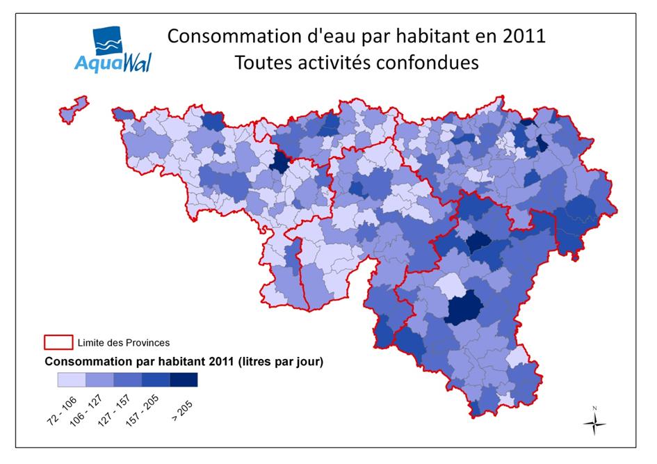 La consommation d 39 eau aquawal tout savoir sur l 39 eau for Consommation moyenne menage electricite