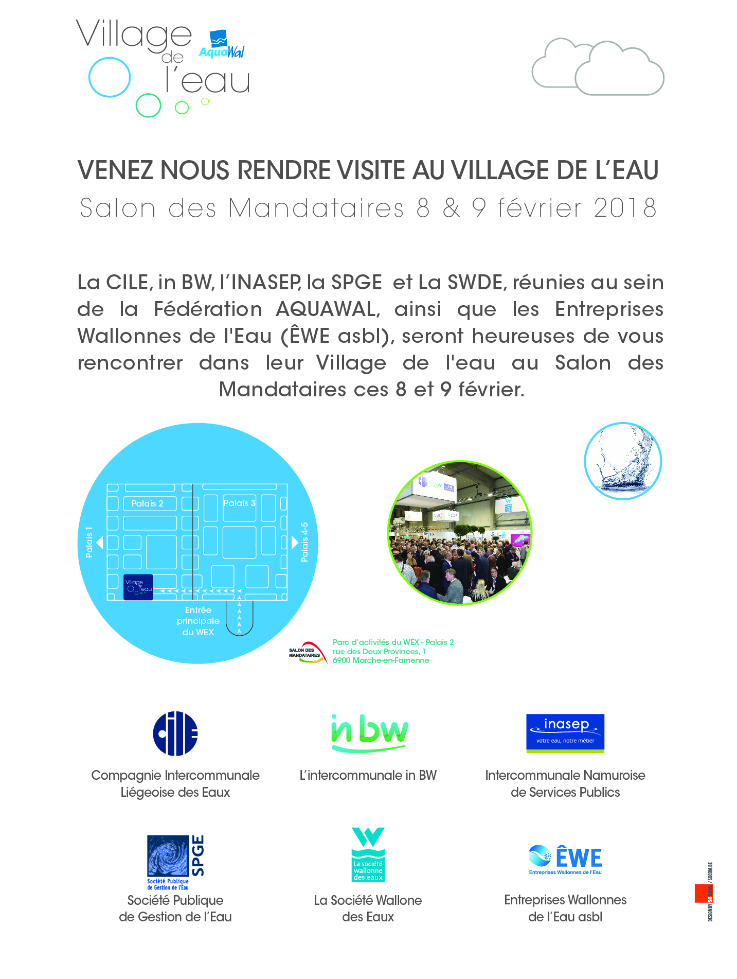 Invit electronique village de l'eau 2018