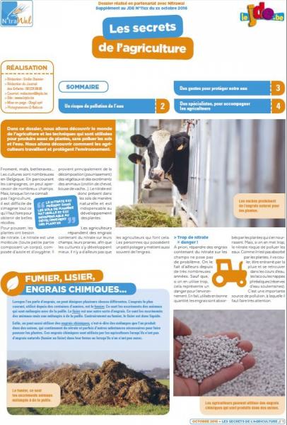 Les secrets de l'agriculture